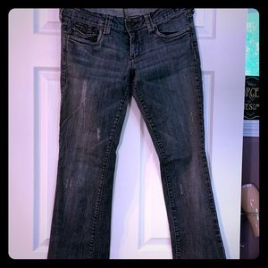 Bootcut jeans, like new